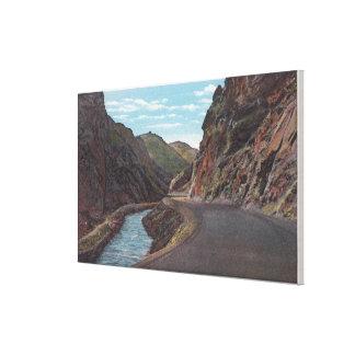 Denver Mountain Park, CO - Bear Creek Canyon Gallery Wrap Canvas