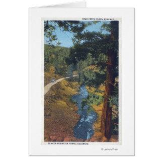 Denver Mountain Park, CO - Bear Creek Canyon Greeting Cards