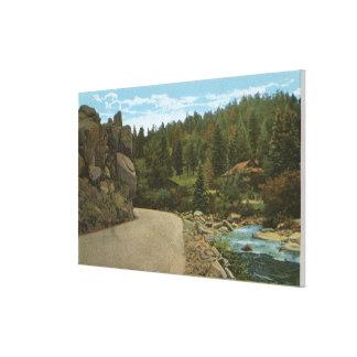 Denver Mountain Park, CO Canvas Print