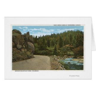 Denver Mountain Park, CO Greeting Card