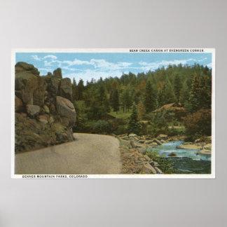 Denver Mountain Park, CO Print