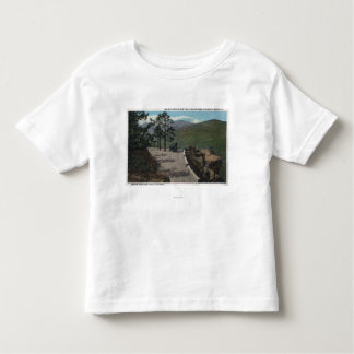 Denver Mountain Park, CO - Wildcat Point Lariat Toddler T-shirt