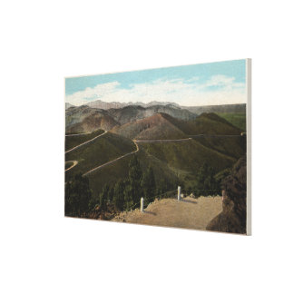 Denver Mountain Parks, CO Stretched Canvas Print