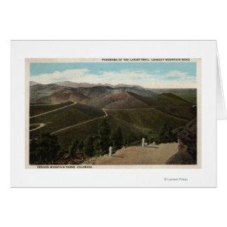Denver Mountain Parks, CO Greeting Card