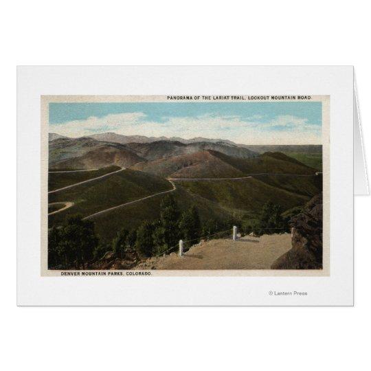 Denver Mountain Parks, CO Card