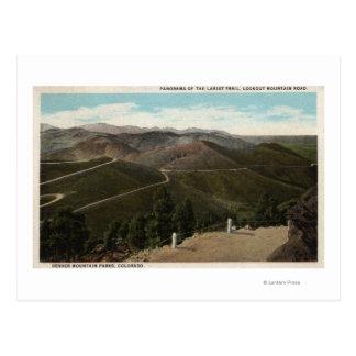 Denver Mountain Parks, CO Post Card
