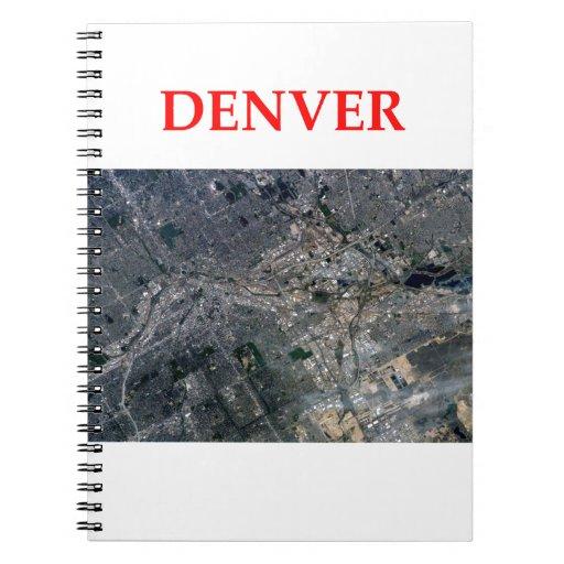 denver note book