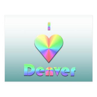 Denver -- Pasteles Postal