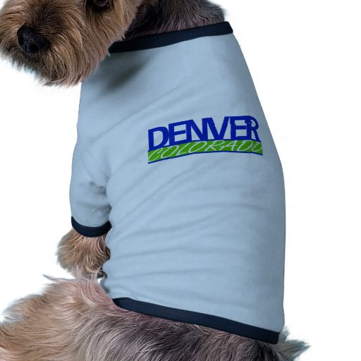 Denver-Plantilla-Azul-Verde Ropa Para Mascota