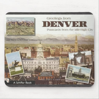 Denver Post Cards From The Mile-High City, Vintage Mouse Pad