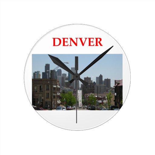 Denver Reloj De Pared