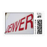 Denver roja sello