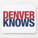 Denver sabe alfombrillas de raton