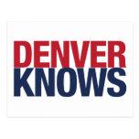 Denver sabe postales