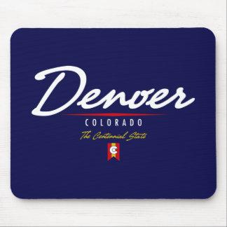 Denver Script Mouse Pad