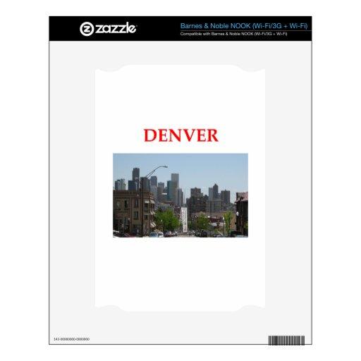 Denver Skins Para elNOOK