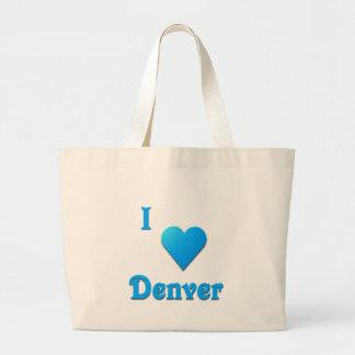 Denver -- Sky Blue Canvas Bag