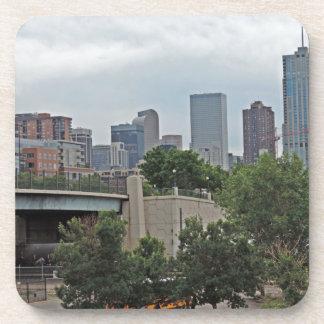 Denver Skyline Beverage Coaster