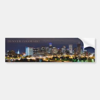 Denver Skyline Bumper Sticker