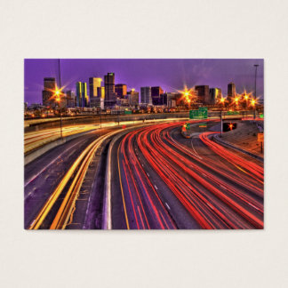 Denver Skyline Business Card