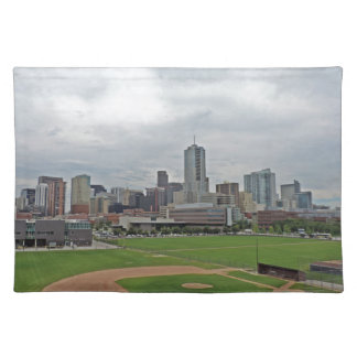 Denver Skyline Cloth Placemat
