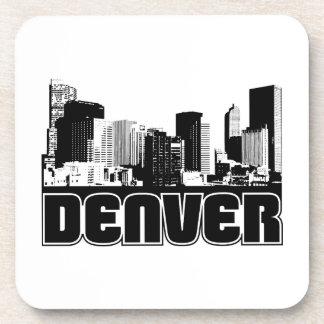 Denver Skyline Drink Coaster