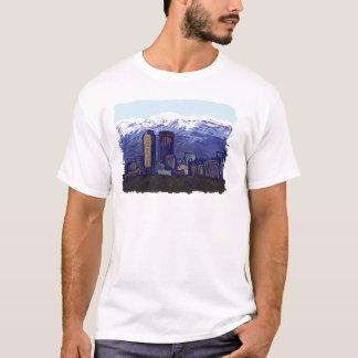 Denver Skyline, Graphic Art T-Shirts