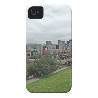 Denver Skyline iPhone 4 Cover