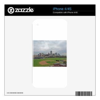 Denver Skyline iPhone 4S Skin