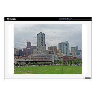 Denver Skyline Laptop Skin