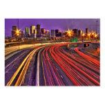 Denver Skyline Large Business Cards (Pack Of 100)