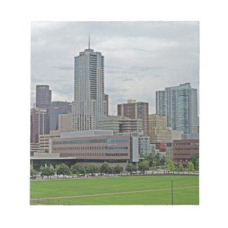 Denver Skyline Memo Notepad