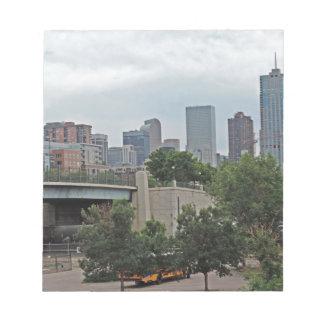 Denver Skyline Memo Notepads