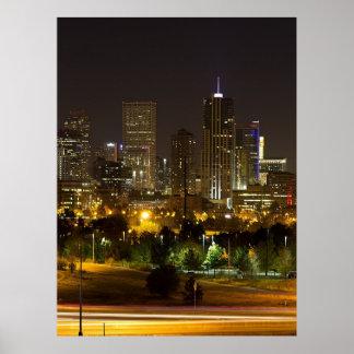Denver Skyline Poster