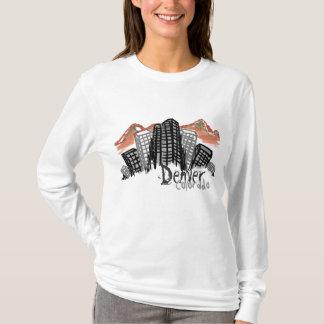 Denver Skyline womens hoodie