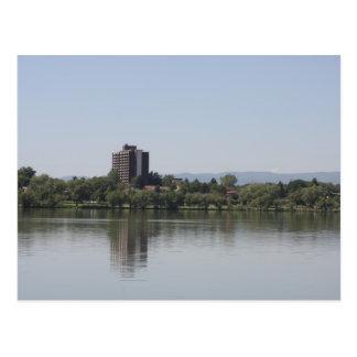Denver. Sloane llake. Postcard