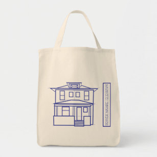 Blueprint tote bags zazzle denver square organic blueprint tote malvernweather Gallery