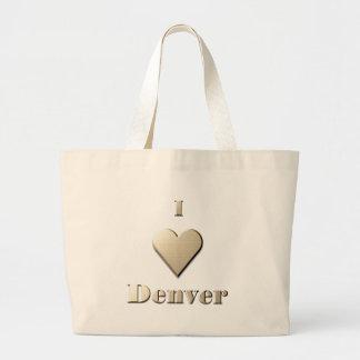 Denver -- Steel Tan Canvas Bag