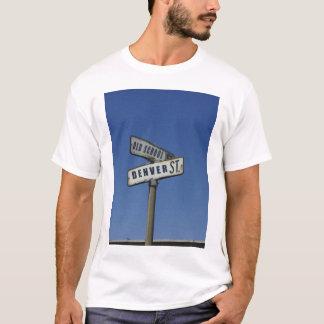 Denver Street Sign T Shirt