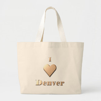 Denver -- Tan Canvas Bags