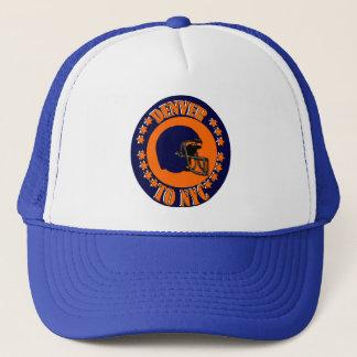 DENVER TO NYC TRUCKER HAT
