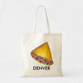 Denver, tote del desayuno de la tortilla de la