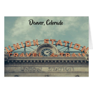 Denver Union Station Card