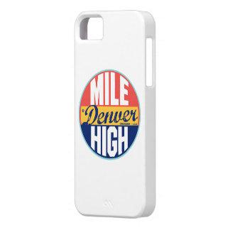 Denver Vintage Label iPhone SE/5/5s Case