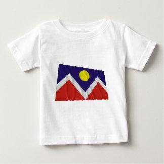 Denver Waving Flag Baby T-Shirt
