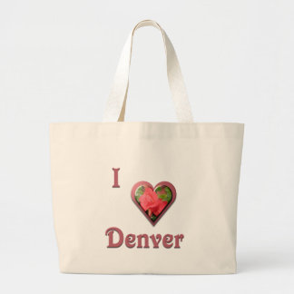 Denver -- with Red Rose Canvas Bags