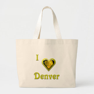 Denver -- with Yellow Flower Tote Bag