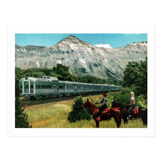 Denver Zephyrs: Denver Zephyr Train Postcard