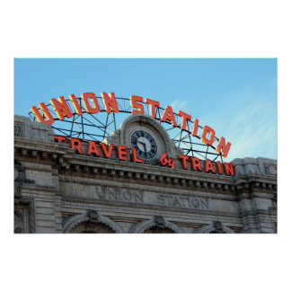 Denver's Union Station Poster
