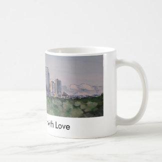 DenverSkyLine, From Denver with Love Coffee Mug